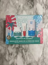 Kopari Wrapped In Coconut Kit - 3 Pieces Gift Set, Brand New
