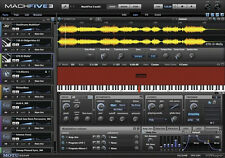 MOTU MachFive Version 3 Mac PC Universal Sampler Plug-In Cross Grade