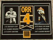 BOBBY ORR BOSTON BRUINS BOSTON GARDEN SEAT 8 X 10 COA
