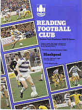 Football Programme>READING v BLACKPOOL Apr 1980