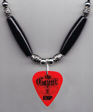 The GazettE Uruha Red Guitar Pick Necklace - 2006 Tour