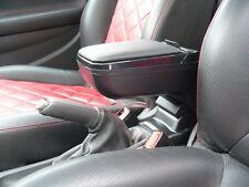 Armster 2 Mittelarmlehne Armlehne mit Ablagefach für Opel Adam schwarz/schwarz