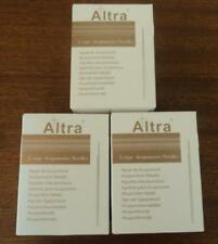 3 Boxes Altra acupuncture needles 40X0.25mm with guide tube