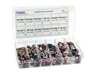 Pioneer Pipe Plug Assortment Kit - Standard