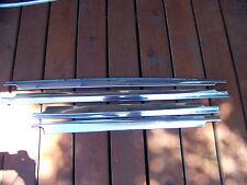 1955 CHRYSLER EXTERIOR DOOR WINDOW TRIM 4D NEW YORKER WINDSOR OEM