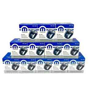 Mopar Engine Oil Filter MO-090 Set of 12 Dodge Jeep Chrysler OEM