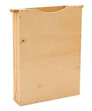 Holz-Futtertasche Kuntzsch hoch, Bienenbox,einfache Wabenbreite, Bienenfütterung
