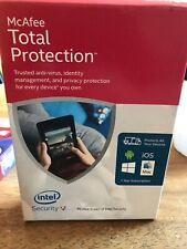 McAfee Total Protection Intel Security 1 year multiple devices