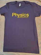 UC Berkeley Physics Womens Blue Medium Shirt