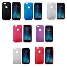 Étuis, housses et coques noirs Apple en silicone, caoutchouc, gel pour téléphone mobile et assistant personnel (PDA)