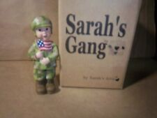 Sarah's Attic Sarah's Gang  (Military Twinkie)  2001 (soldier) 4 in. tall