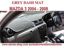 DASH MAT, DASHMAT, DASHBOARD COVER  FIT MAZDA 3 2004-2008, GREY
