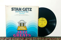"Stan Getz Tenor Sax ""Cool Jazz"", Hall Of Fame Jazz Greats, LP 1978 - NM Vinyl"