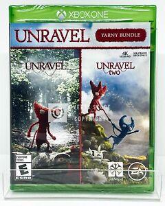 Unravel Yarny Bundle - Xbox One - Brand New | Factory Sealed | Spanish/English