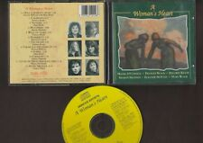 Various - A Woman's Heart - 1992 Irish folk compilation CD excellent