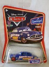 Disney Pixar Cars FABULOUS HUDSON HORNET RED Ser2 (Supercharged) 1:55 Diecast OS