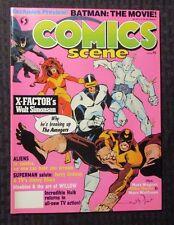 1988 COMICS SCENE Magazine #3 VF+ Walt Simonson - X-Factor