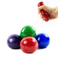 1 Crystal Bead filled anti stress ball sensory calming autism toy anxiety