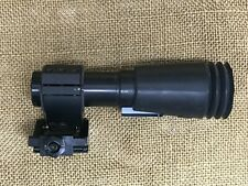 Hensoldt Wetzler ZF 2.6x13 scope. Red Dot Magnifier, Swing mount