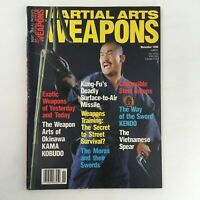 Martial Arts Weapons Magazine November 1990 Toshishiro Obata Feature, No Label
