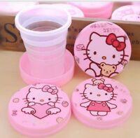 new Hello Kitty girls brand new folding water bottle best gift