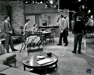 Dick Van Dyke Signed TV Show Photo with Cast on Set