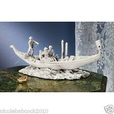 European Gondola Romantic Ride Venice Italy Kissing Under Bridges Culpture