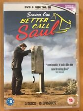 BETTER CALL SAUL SEASON ONE (1) Free UK PP - FAB SERIES! 3 DISCS *DOG CHARITY*