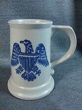 Pfaltzgraff Yorktowne Eagle USA Beer Stein Tankard Mug #286