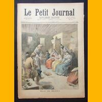 LE PETIT JOURNAL Supp. illustré NOËL EN RUSSIE 8 janvier 1894