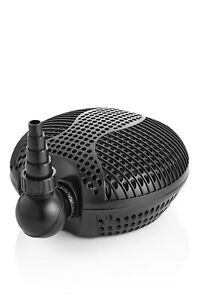 Swell UK Pond Filter Pump Deluxe Submersible Energy Saving Waterfall and Feature