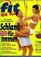 Fit for Fun 10/1997 - Schlank durch Bewegung, Fleisch-Konsum, Atemtechnik