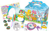 Pre Filled Happy Easter Party Box - Childrens Parties Activity Gift Bags Egg