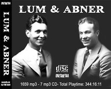 LUM & ABNER - Old Time Radio - 7 CD SET - 1683 mp3