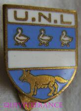 BG7851 - INSIGNE BADGE CLUB NATATION Union des Nageurs Louviérois  BELGIQUE