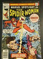 MARVEL SPOTLIGHT #32 1ST APPEARANCE & ORIGIN OF SPIDER-WOMAN (Marvel 1977)