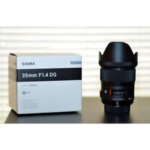 Sigma AF 35mm f/1.4 DG HSM Art Lens for Sony E