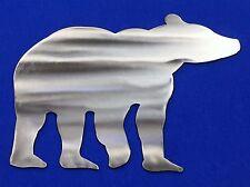 Bear Aluminum Metal Wall Art Skilwerx 12x9 Wildlife 1