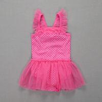 Baby Girl Dot Romper Bodysuit Infant Outfit Toddler Clothes Bodysuit Playsuit