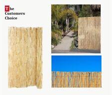 6x16 Backyard Bamboo Fence Pool Privacy Screen Outdoor Garden Fencing Panel Idea
