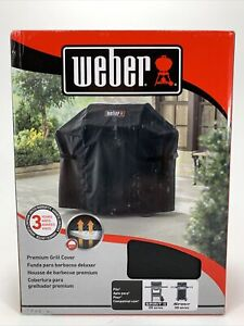 Weber 65-in Black Gas Grill Cover 200 SERIES