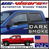 Fits 2007-2013 Silverado Double Cab Full Truck Precut Window Tint Kit Film