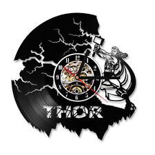 Vinyl Record Wall Clock Retro Thor Avengers Wall Watch Hanging Clocks