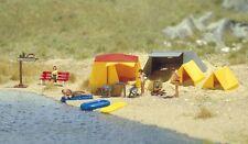 Busch H0 (6026): Camping Spot - Motif-Set