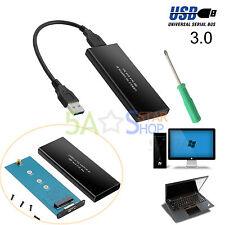 USB3.0 a NGFF M.2 SSD externo SSD adaptador anexo cobmutador caja negra