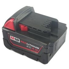 Generic Battery for Milwaukee 48-11-1840 M18 18V Red Lithium Battery XC 4.0Ah