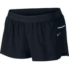 Women's Nike Race Woven Run Speed Shorts Size M Black BNWT 686005-010
