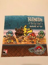 Pokemon World Championships 2012 Hawaii Cloth Screen Cleaner Pikachu - New