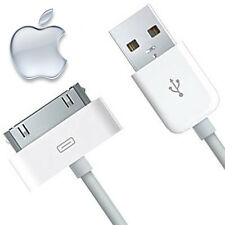 Apple 30 Broches chargement USB Câble iPhone 4/4S/3G/3GS iPod & iPad 1/2