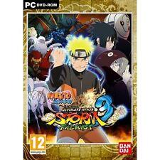 Naruto Shippuden Ultimate Ninja Storm 3 PC 100% Brand New